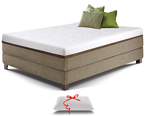 Live And Sleep Resort Ultra King Size 12 Inch Medium Firm Cooling Gel Memory Foam Mattress With