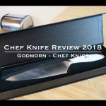 Chef Knife Review 2018 - Godmorn Chef Knife cutlery - Plant Based Home Chef Jeremiah Vielleux
