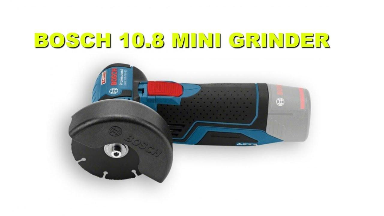 Tool Review - Bosch 10.8V Cordless Mini Grinder.