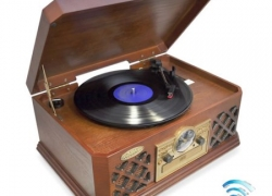 Best Record Player with Built In Speakers