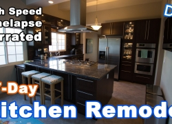 Kitchen Remodeling Timelapse Narrated