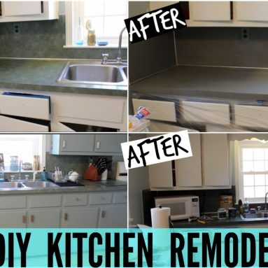 DIY KITCHEN REMODEL! (Part 1)
