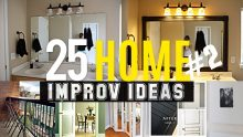 25 Home improvement ideas #2