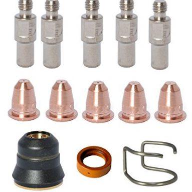 Kit 13PC KLUTCH Plasma Cutter 275i & 375i (5 pcs Item 48325, 5 pcs Item 48326, 1 pcs 48323, 1 pcs 48324, 1 pcs CV0010) By Trafimet