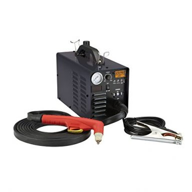 Chicago Electric Welding 240 Volt Inverter Plasma Cutter with Digital Display