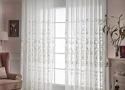 AliFish 1 Panel Rod Pocket Window Embroidery Voile Sale – Read The Reviews Before Buying!