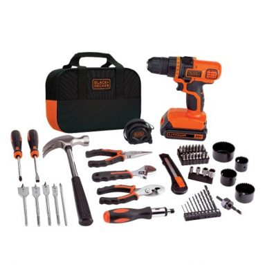 BLACK+DECKER LDX120PK 20-Volt MAX Lithium-Ion Drill and Project Kit sale
