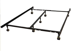 Classic Brands Hercules Universal Heavy-Duty Metal Bed Frame | Adjustable Width Fits Twin, Twin XL, Full, Queen, King, California King sale