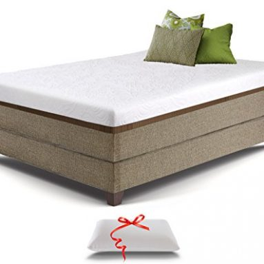 Live and Sleep Resort Ultra, King Size 12-inch Medium Firm Cooling Gel Memory Foam Mattress with Luxury Form Pillow, Certipur-US Certified plus 20-Year Warranty sale