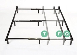 Zinus Compack Adjustable Steel Bed Frame, for Box Spring & Mattress Set, Fits Twin to Queen sale