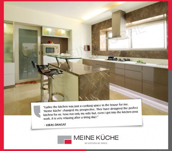 Customized Premium Modular Kitchen