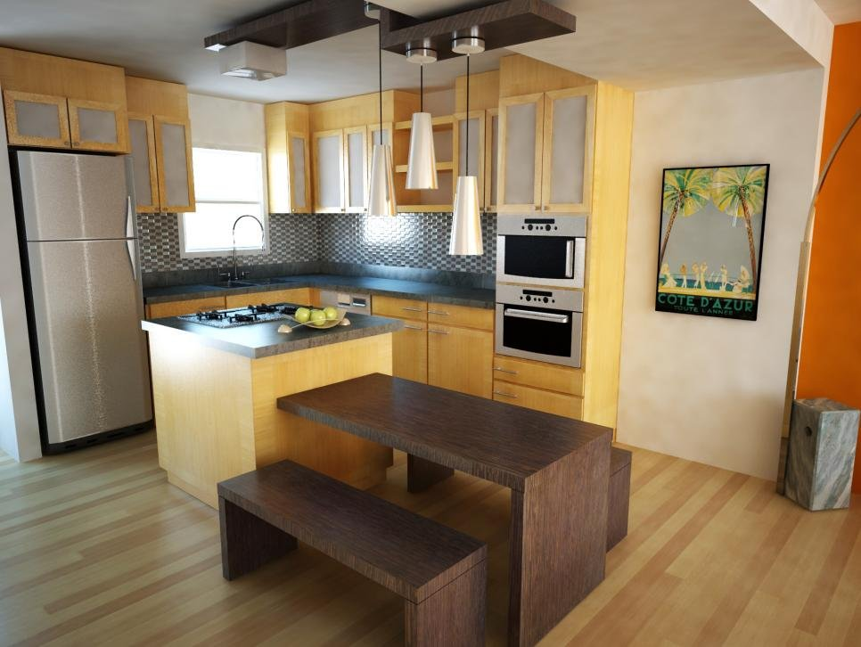 Simple Kitchen Design Ideas for Practical Cooking Place