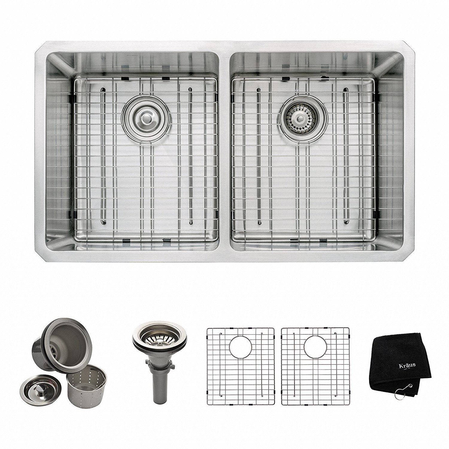 5 Best double bowl kitchen sinks reviews-ultimate guide 2017