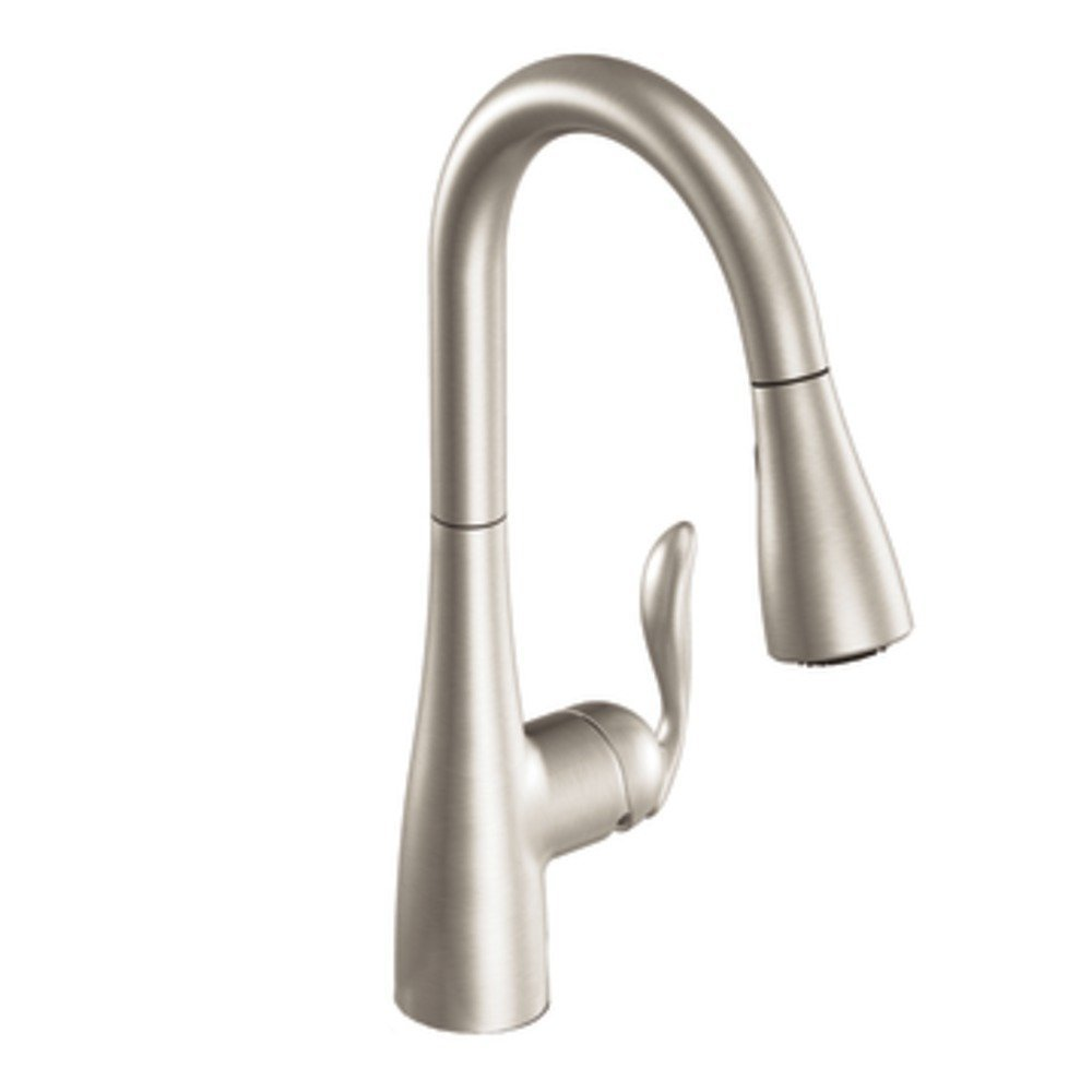 Moen 7594SRS Arbor One-Handle High Arc Pull-down Kitchen Faucet