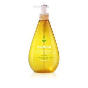 Method Kitchen Gel Hand Soap, Lemongrass, 18 Fl Oz  (Pack 6)