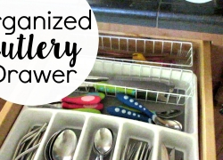 Cutlery Drawer: Declutter and Organize Silverware