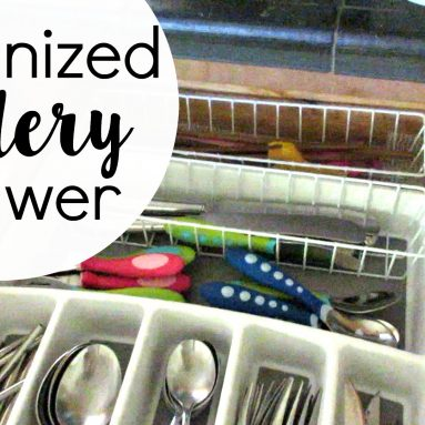 Cutlery Drawer: Declutter and Organize Silverware
