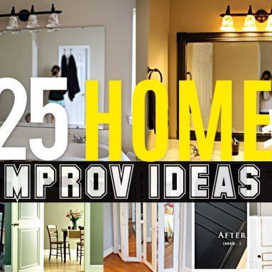 25 Home improvement ideas #2