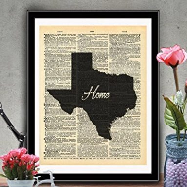 Texas State Vintage Map Vintage Sale – Read The Reviews Before Buying!