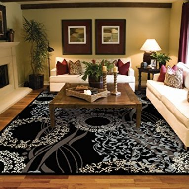 Large Rugs for Living Room 8×10 Black Sale – Read The Reviews Before Buying!