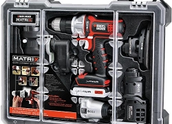 Black & Decker BDCDMT1206KITC Matrix 6 Cordless Tool Combo Kit with Case sale