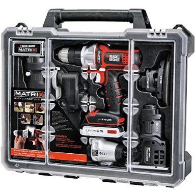 Black & Decker BDCDMT1206KITC Matrix 6 Cordless Tool Combo Kit with Case sale