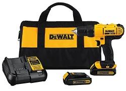 Dewalt DCD771C2 20V MAX Cordless Lithium-Ion 1/2 inch Compact Drill Driver Kit sale