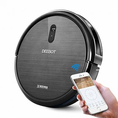 ECOVACS DEEBOT N79 Robotic Vacuum Cleaner with Strong Suction, for Low-pile Carpet, Hard floor, Wi-Fi Connected sale
