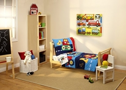Everything Kids Toddler Bedding Set, Under Construction sale