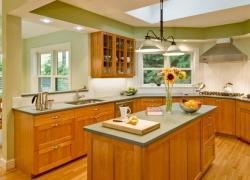 Green Kitchen Interiors For Home Design Ideas