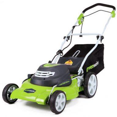 Greenworks 20-InchCorded Lawn Mower Sale