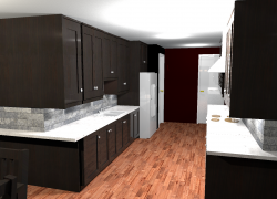 What do you think of my kitchen design?