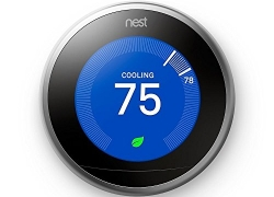 Nest Learning Thermostat 3rd Generation, Stainless Steel, Works with Amazon Alexa sale