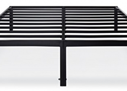 Olee Sleep 14 Inch T-3000 Heavy Duty Steel Slat / Non-slip Support Bed Frame 14BF04F (FULL) sale