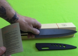 Shan Zu 8 inch Ceramic Chef Knife Review