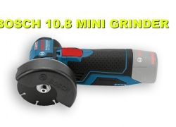 Bosch 10.8V Cordless Mini Grinder Review