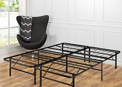 Zinus 14 Inch SmartBase Mattress Foundation / Platform Bed Frame / Box Spring Replacement / Quiet Noise-Free / Maximum Under-bed Storage, Full sale