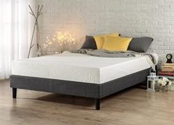 Zinus Essential Upholstered Platform Bed Frame / Mattress Foundation / no Boxspring needed / Wood Slat Support, Full sale
